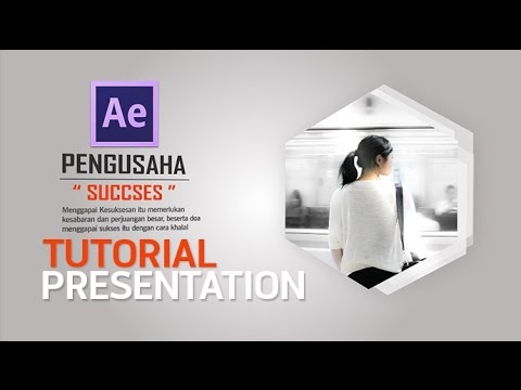 Tutorial After Effect Presentation