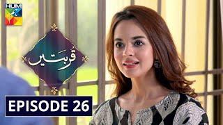 Qurbatain Episode 26 HUM TV Drama 5 October 2020