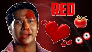 RED TOMATO, RED HEART AND RED EYE