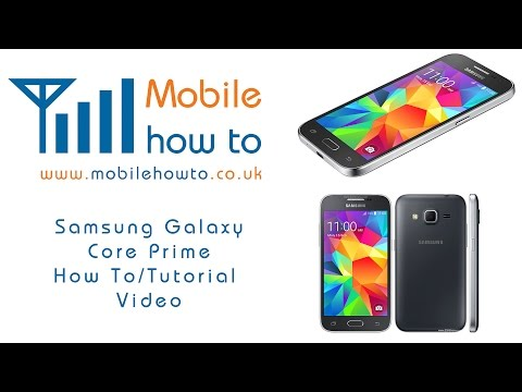 How To Access Text Message Settings - Samsung Galaxy Core Prime