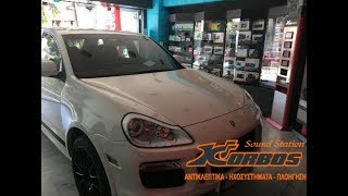 We are installing a Tv Tuner in Porsche Cayenne GTS www.korbos.gr