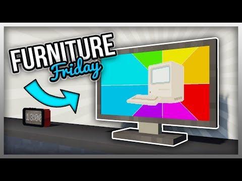 ✔️ MrCrayfish's Furniture Mod: Flatscreen TV (The Modern Update)