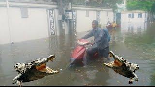 ភ្លៀងមួយមេធំកាលពីម្សិលម៉ិញថ្ងៃទី 12  07 2020,rain in phnom penh in yesterday