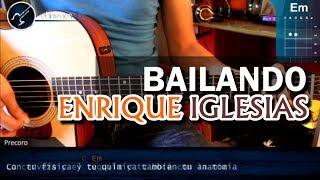 """Cómo tocar """"Bailando"""" de Enrique Iglesias Ft. Gente de Zona en Guitarra COMPLETO (HD) - Christianvib"""
