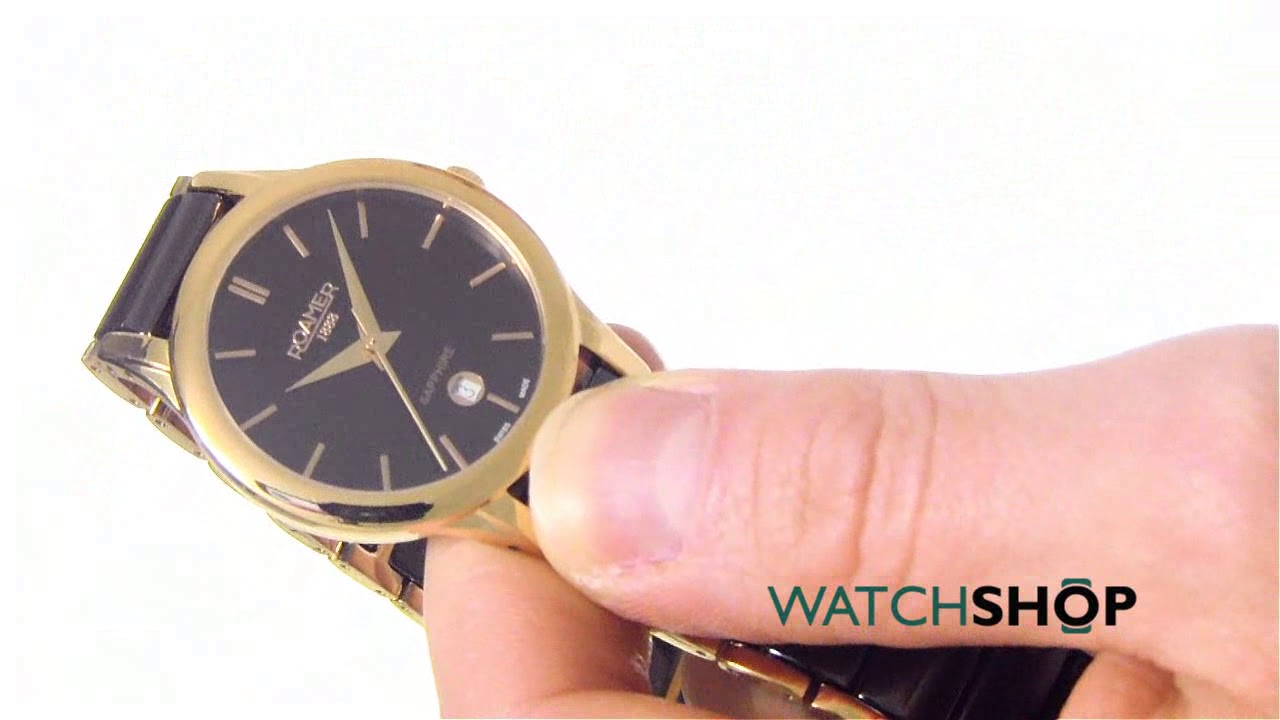 9f0c9c1e60e1 Roamer Ladies  C-Line Ceramic Watch (657844495560) - YouTube