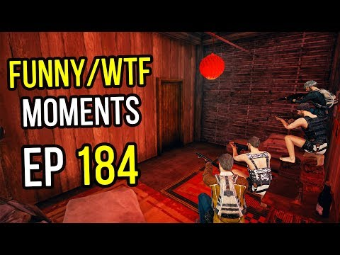 PUBG Funny and WTF moments Ep. 184