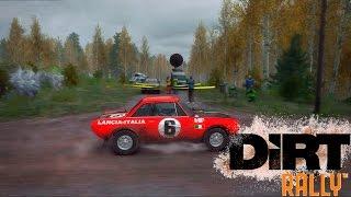 Прохождение Dirt Rally кокпит+вебка | Сезон 1, Lancia Fulvia, Финляндия | #2
