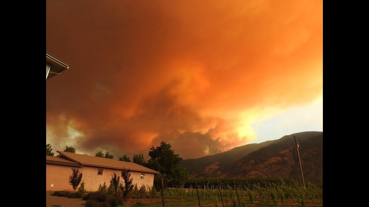 Wildfires burn across B.C.'s Okanagan Valley