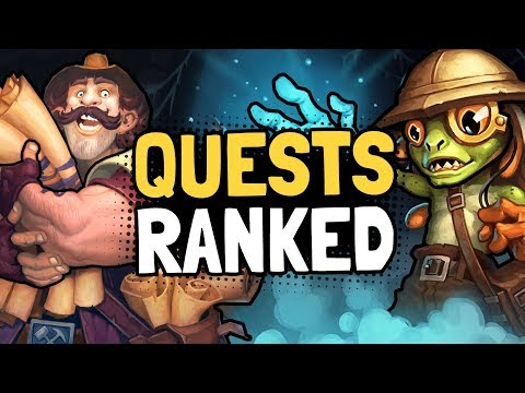 RANKING The LEGENDARY QUESTS In Saviors Of Uldum | Hearthstone