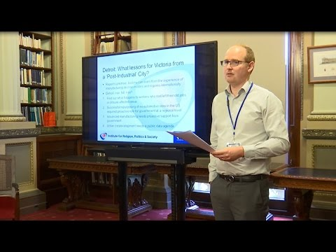 Library Fellow's research tackles car manufacturing decline