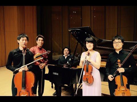 R. Schumann Piano Quintet Op.44 Shusuke Kanda & Cise Quartet 3rd concert
