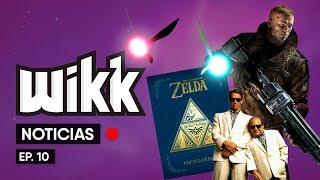 WIKK EP #10 - ZELDA ENCYCLOPEDIA, TWINS MOVIE 2, WOLFENSTEIN 2, GOOGLE, GOODZILLA ANIME Y MAS