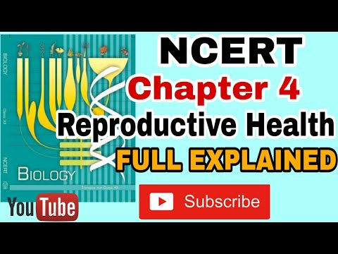 NCERT Ch-4 Reproductive Health class 12 Biology Full Command over NCERT For BOARDS and NEET thumbnail