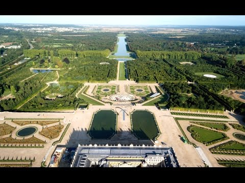 GARDENS OF VERSAILLES - Most Beautiful Gardens in the World.  [ HD ]