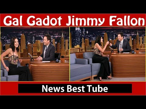 Gal Gadot Tries a Reese's Peanut Butter Cup for the First Time on 'Fallon'