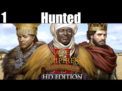 Age of Empires II HD: The African Kingdoms Let`s Play Mali part 1 Hunted