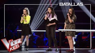 Alicia, Ana y Lucia cantan 'Out here on my own' | Batallas | La Voz Kids Antena 3 2019