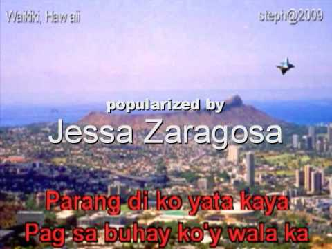 """""""BAKIT PA"""" Video Karaoke @in the style of Jessa Zaragosa"""