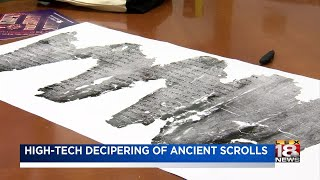 High-Tech Deciphering Of Ancient Scrolls