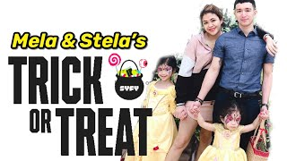 Trick Or Treat Experience ni Mela and Stela