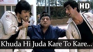 Khuda Hi Judaa Kare (HD) - Aap To Aise Na The Song - Raj Babbar - Deepak Parashar - Bollywood Songs