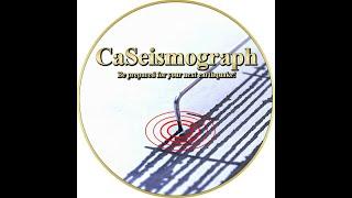 CaSeismograph Live Earthquake Stream