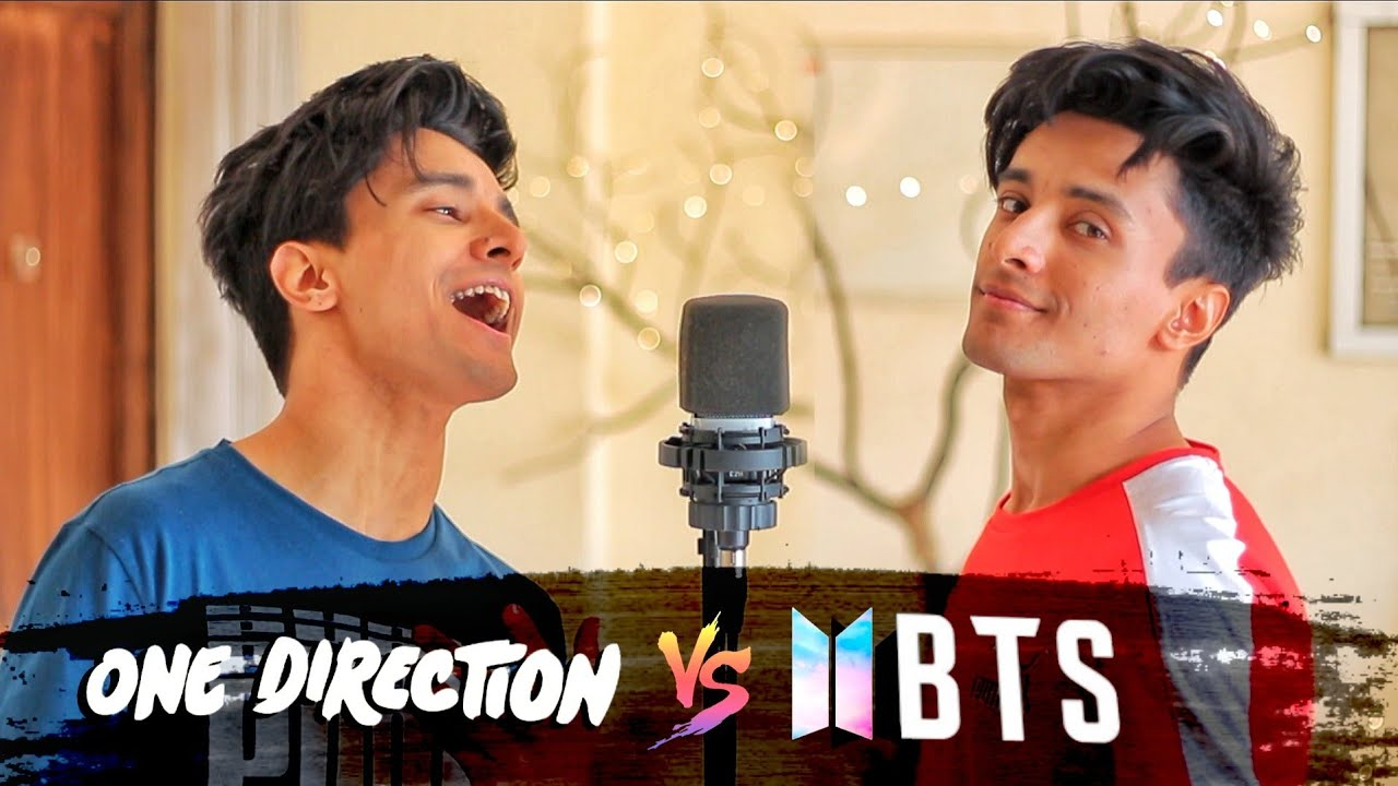BTS v/s ONE DIRECTION (Mashup by Aksh Baghla)