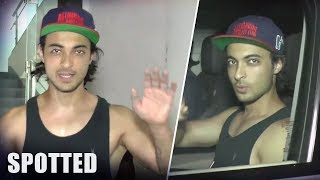 Aayush Sharma SPOTTED After His Gym Workout Session