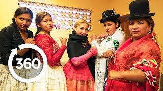 Скачать Fight Back With The Cholitas La Paz Bolivia 360 VR Video Discovery TRVLR