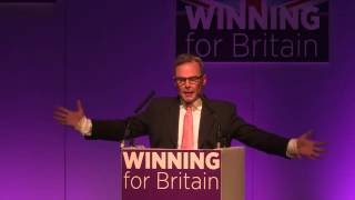 UKIP Group Leader in the London Assembly, Peter Whittle, in Bournemouth