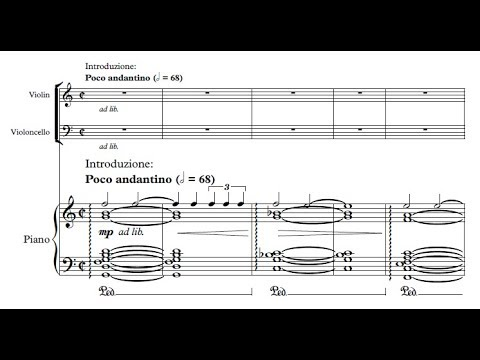 Theodore Servin - Nocturne for piano trio Op. 5 (audio + sheet music)