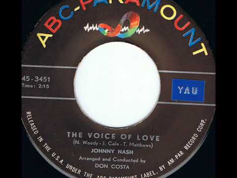The Voice of Love  (sung by Johnny Nash)