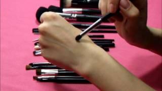 видео Кисти для макияжа - какая для чего предназначена и как пользоваться