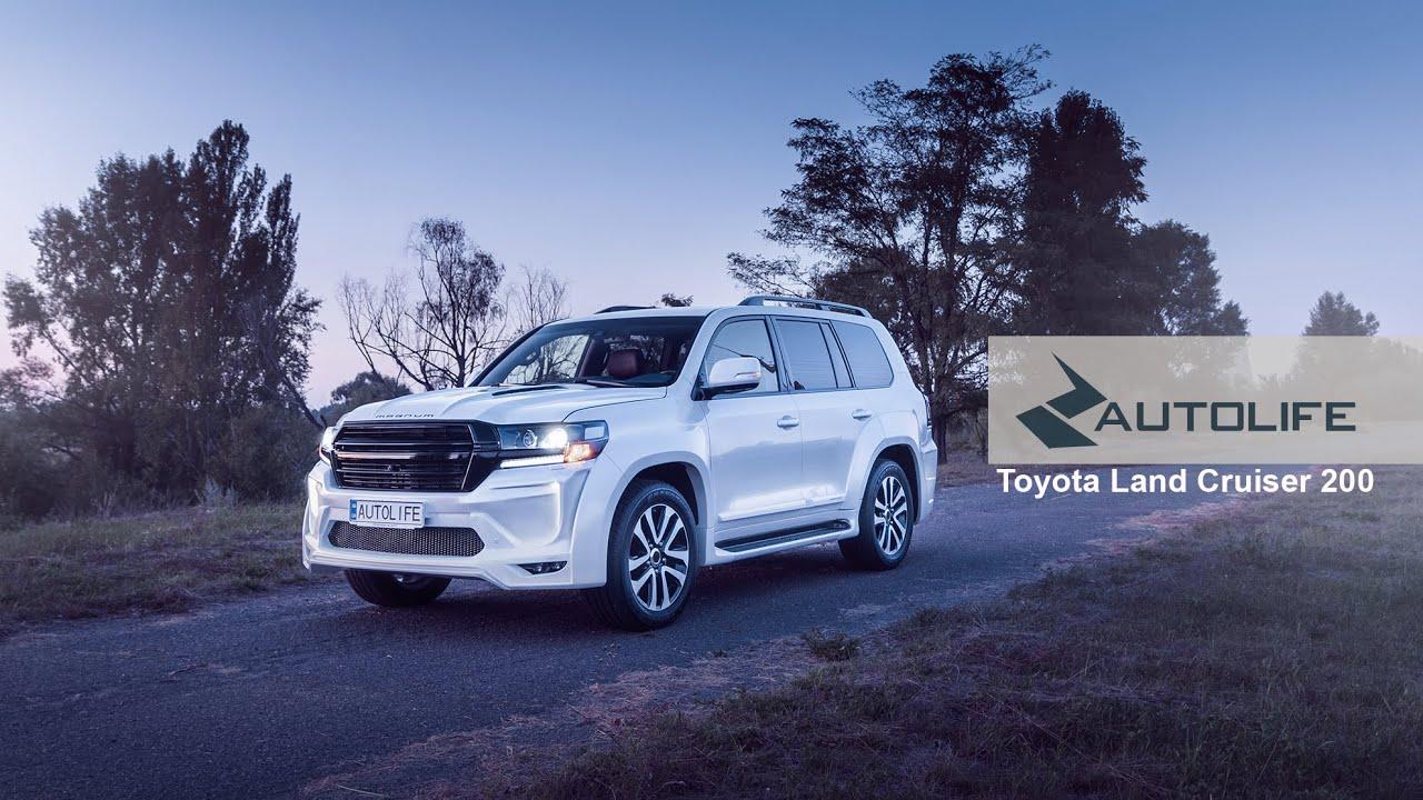Рестайлинг Toyota Land Cruiser 200 2016 год купить в ... | 720x1280