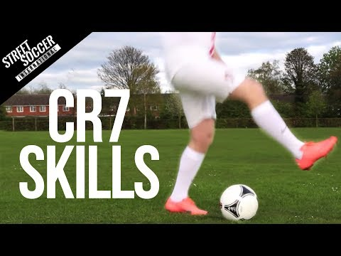Cristiano Ronaldo Euro 2012 Skills - Learn Step Double Touch skill Travel Video