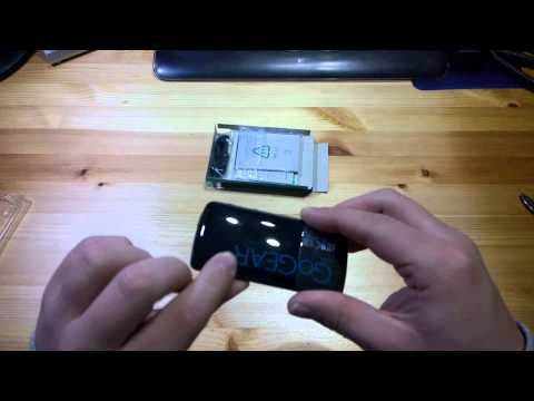 Unboxing MP3-Player Philips GoGear Azure