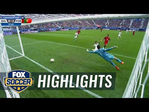 Bernardo Silva extends Portugal lead | 2017 FIFA Confederations Cup Highlights