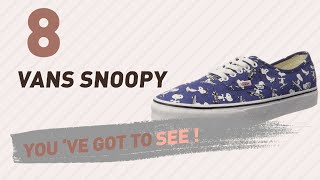 Vans Snoopy, Women Fashion Collection // New & Popular 2017