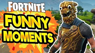 FORTNITE RANDOM MOMENTS! Funny & Random Moments In Fortnite Battle Royale #2 - Funniest Streamers!