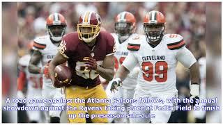 NFL Preseason Schedule 2019: Redskins announce preseason opponents