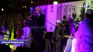 بالفيديو والصور..حسن كامي يصف ياسين التهامي بعميد المنشدين الدينيين