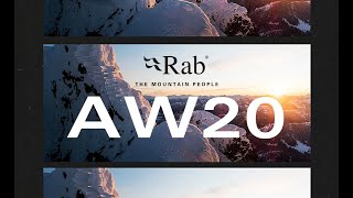Rab Autumn Winter 2020 Collection   New Season Highlight Teaser   Rab Equipment