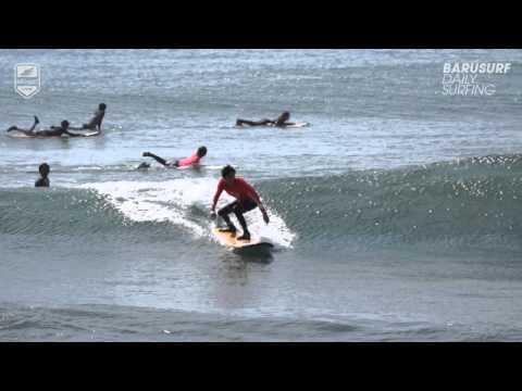 Barusurf Daily Surfing - 2015. 12. 26. Sanur