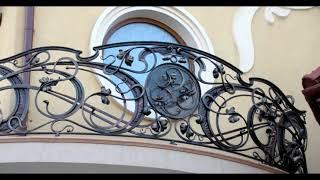 видео Кованые балконные ограждения, купить кованые ограждения балконов