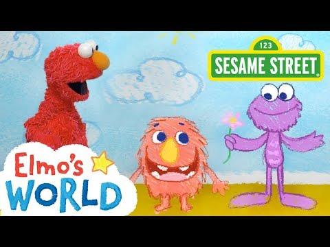 Sesame Street: NEW Elmo's World: Kindness   FULL Segment