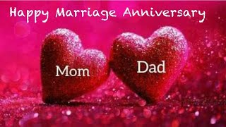 Happy marriage anniversary status ll mom and dad ll