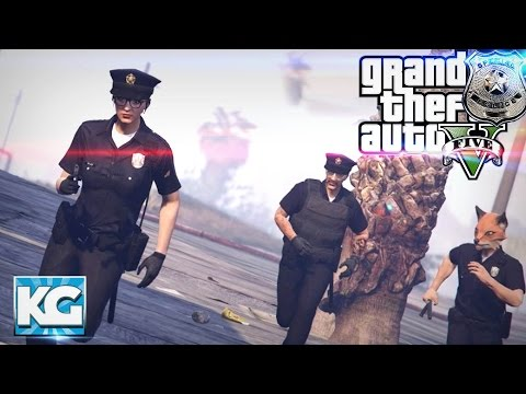 LET'S BE COPS - Police Life Role Play! (GTA 5 Funny Moments)