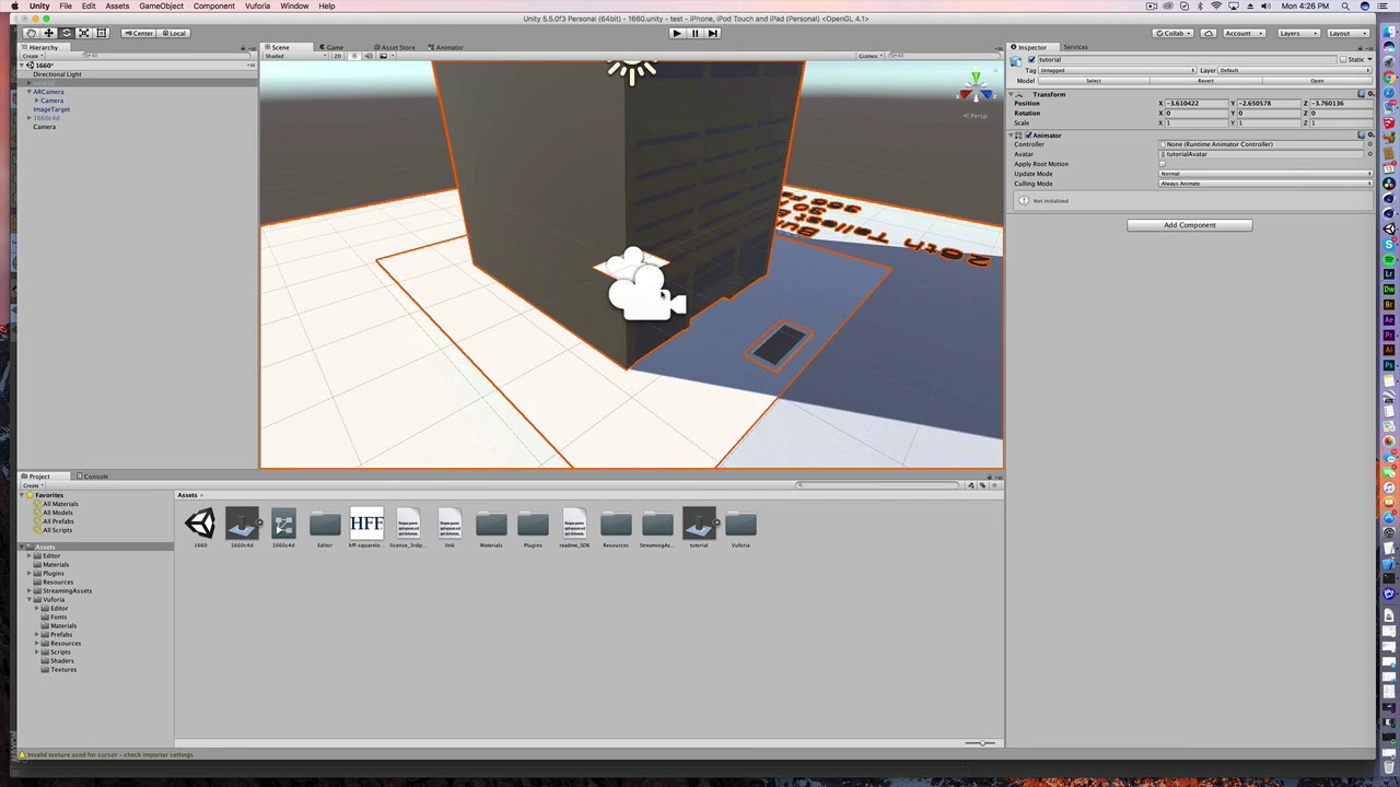 Cinema 4D to Unity - How to export materials and animations