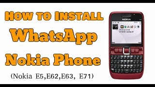 Download lagu How to Install whatsapp on Nokia E63 - WhatsApp installation on Symbian Fix