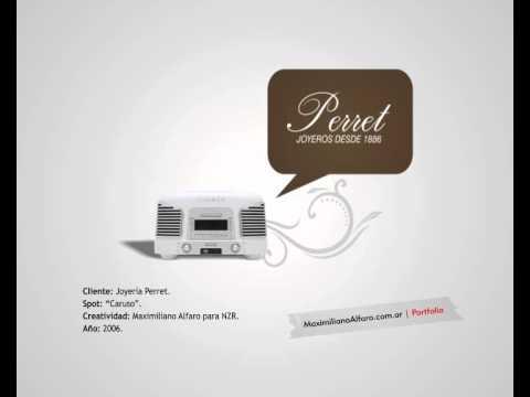Perret - Caruso (spot de radio)
